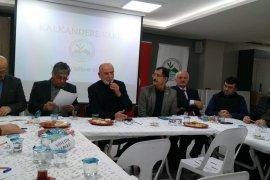Kalkandere Vakfı istişare kurulu gerçekleştirildi