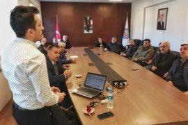 Varroa Mücadelesi eğitim toplantısı yapıldı