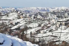 2021 Kalkandere kış manzaraları