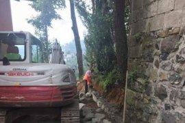 Dağdibi Mahallesi'nde yol çalışmaları