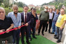 Kalkandere Spor lokalinin açılışı yapıldı