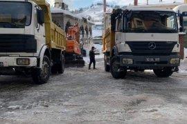 Kalkandere belediyesi kâr ile mücadeleye tam gaz devam ediyor