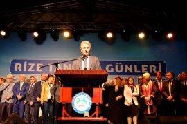 İstanbul'da '11. Rize Tanıtım Günleri' Başladı