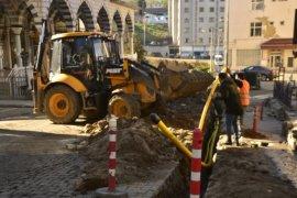 Kalkandere'ye doğalgaz geliyor, kazılar başladı