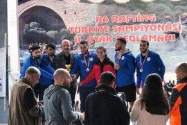 Çaykurspor Rafting Takımı Türkiye ikincisi Oldu