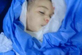 İbdil'de çocuklarla birlikte insanlıkta ölüyor.