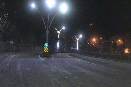 Kalkandere'de yeni aydınlatma direklerine kavuştu