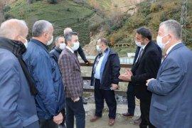Türüt'ten Kalkandere ye Ziyaret