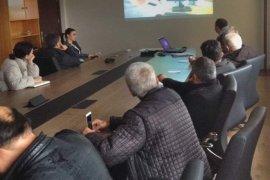Gübre takip sistemi hakkında bilgilendirme toplantısı yapıldı