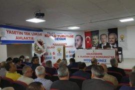 Ak Parti Olağan Kongresi yapıldı