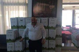 Karşıyaka Karadenizliler Derneğinden Ramazan yardımı