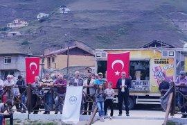 ANZER YAYLASI KUR'AN SESLERİYLE ŞENLENDİ