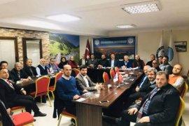 RİDEF başkanlar toplantısı yapıldı