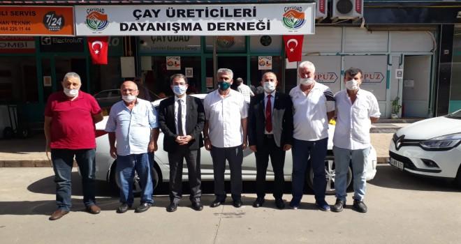 CHP il Örgütü Ziyaretlerine Rize'de Devamuj Etti