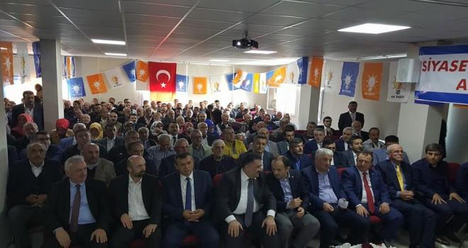 AK Parti Kalkandere'de Hasan Ayyıldız güven tazeledi