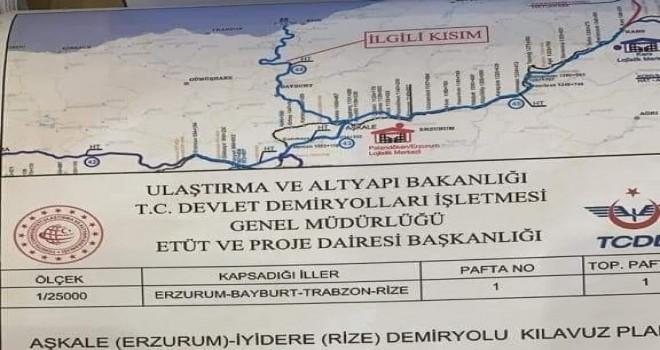 Rize Erzurum demir yolu hayata mı geçiyor?