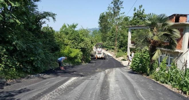 Kalkandere Belediyesi Asfaltlama Çalışmaları