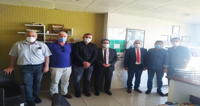 CHP Rize il örgütü Rize'deki STK ziyaretlerine devam ediyor