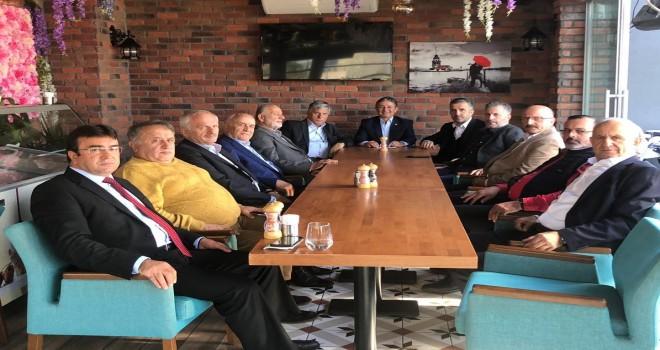 Kalkandere Vakfı Başkanları Buluştu