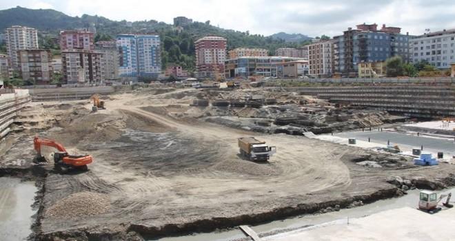 AVM inşaatı çalışmaları Başladı