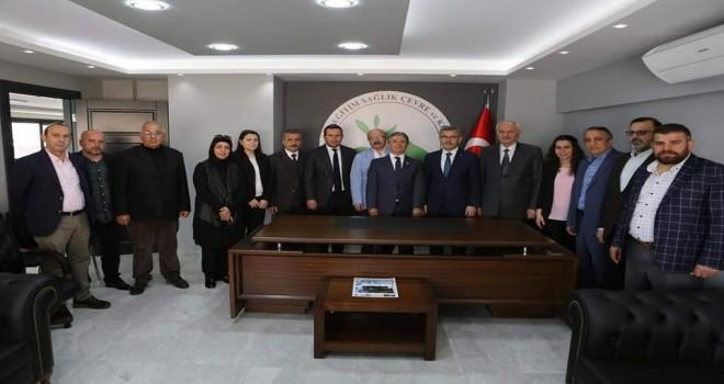 Sayın Hilmi Türkmen Kalkandere Vakfını Ziyaret Etti