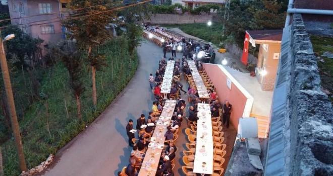 Kalkandere Seyrantepe Köyü İftar Yemeği