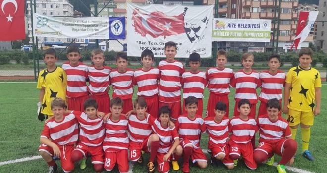 Tebrikler Kalkanderespor U-12 Futbol Takımımıza