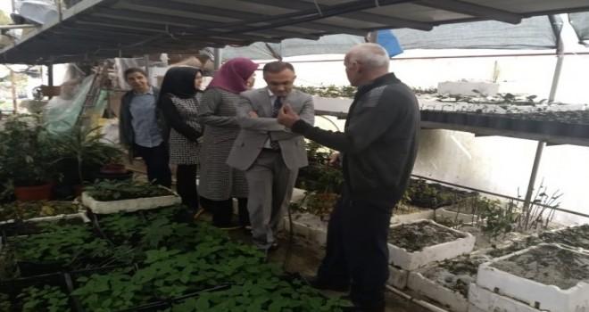 Vali Çeber'den Kamelya Vadisi Seraları'na Ziyaret