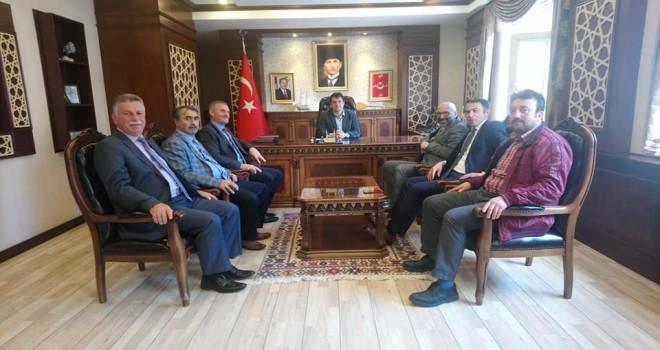 Tarihi Taşçılar Camii'ni ziyaret ettiler