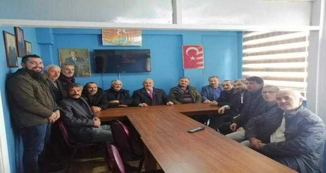 Kalkandere MHP Teşkilatı Yılın Son Toplantısını Yaptı