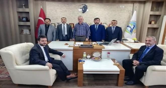 İlçe Müftüsü ve Din Görevlilerin Belediye Başkanı Ziyareti