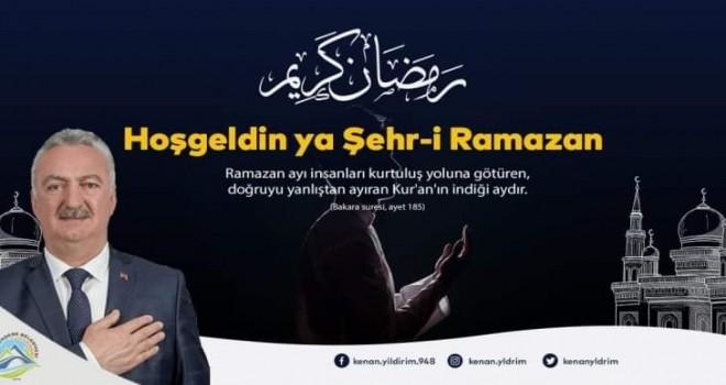 Yıldırım'dan Ramazan ayı mesajı