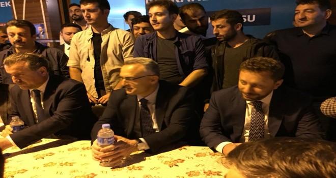 BakanlarAğbalve Bak, Kalkandere'de Vatandaşlarla Buluştu