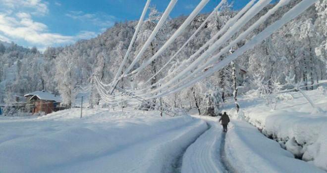 Buzdan, kardan elektrik kesintisine son!