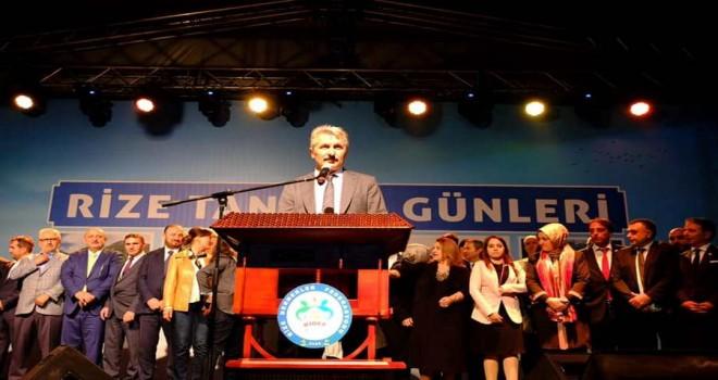 RİDEF Genel Başkanı Recep ALBAYRAK'tan Teşekkür
