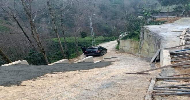 Kuruköy mahallesi Yusuflar mevkii yolu tamamlandı