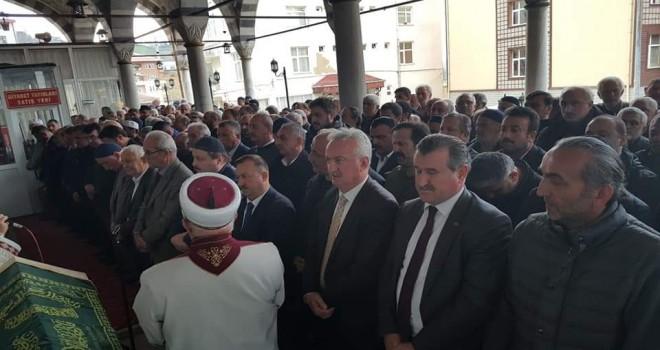 Ahmet Adıgüzel'i hakk'a uğurladık.