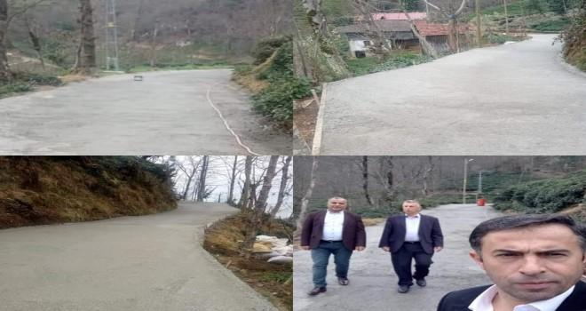 Yolbası köyünde betonlama çalışması yapıldı