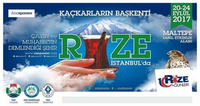 Rize Rüzgârı 20-24 Eylül'de İstanbul'da Esecek