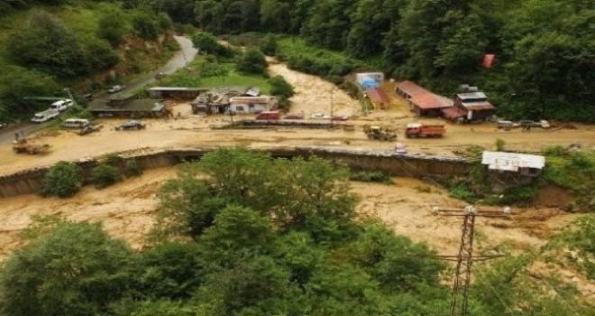 İkizdere ve Çayeli'ndeki Sel Afetinde 476 Noktada Hasar Tespiti Yapıldı