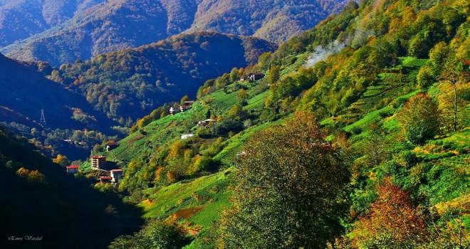 2018 Kasım Güzel Kalkandere'den Görünümler