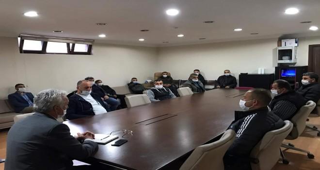 Covid-19 ile mücadele toplantısı yapıldı