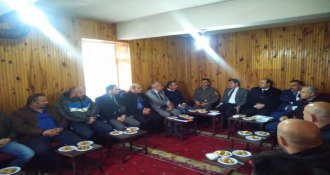 Kalkandere Fındıklı Köyü Vatandaşla Buluşma Toplantısı