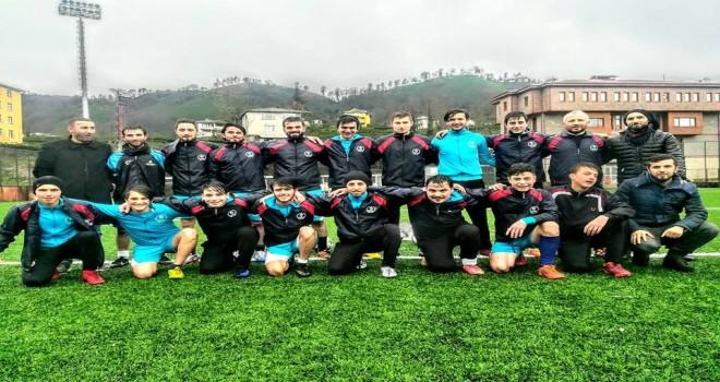 Kalkandere Ormanlıspor 'un İlk Maçı