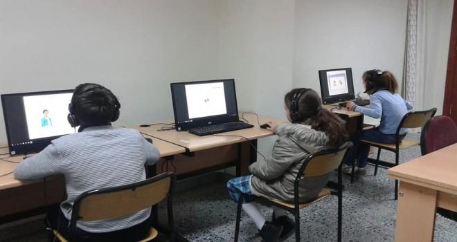 Dağdibi okulunda DYNED uygulama Sınıfı Açıldı