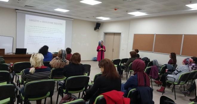 Rize'de Sağlıklı Beslenme ve Hareketli Hayat eğitimleri verildi