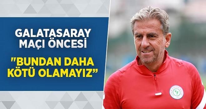 Hamza Hamzaoğlu, Galatasaray maçı öncesi konuştu