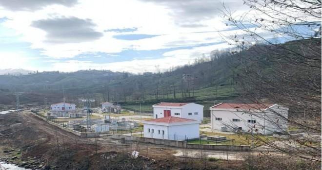 Kalkandere Arıtma Tesisi Hizmete Girdi