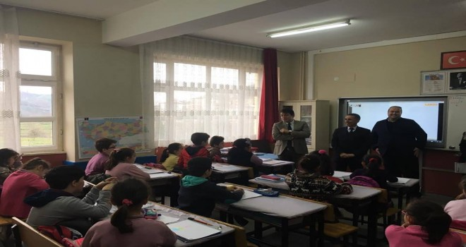 Kalkandere KaymakamıSercan YILMAZ Okul Ziyareti