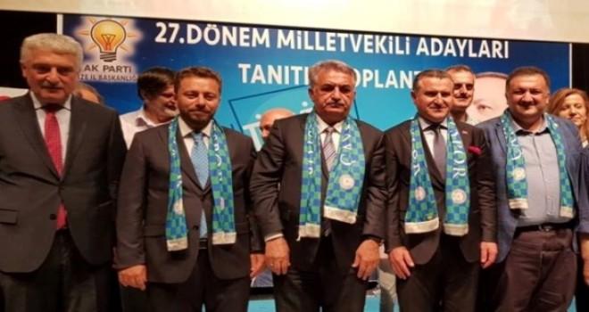 Ak Parti Milletvekili Tanıtım Toplantısında Birlik Görüntüsü Vardı